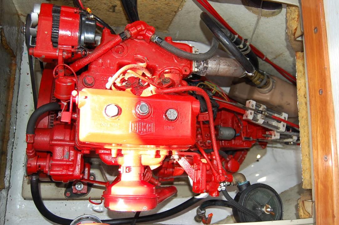 LM28 Bukh Dieselmaschine